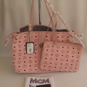Authentic MCM Tote & Clutch